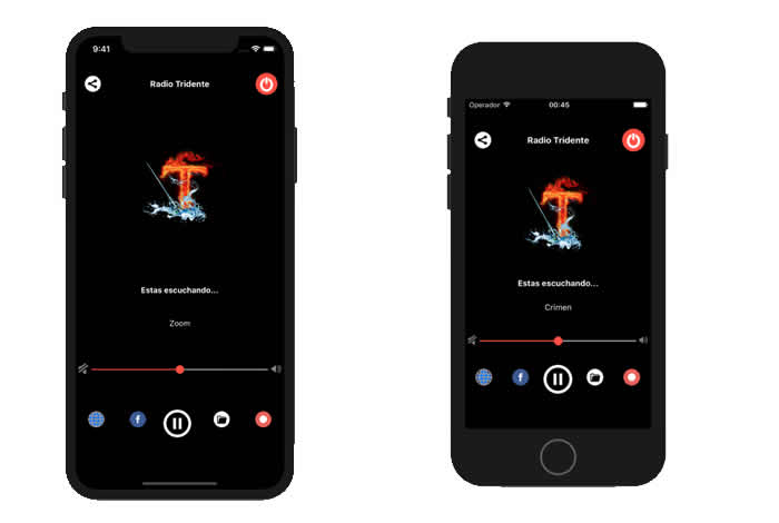 App iOS Radio Tridente